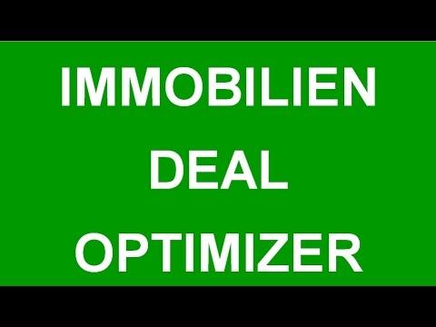 Der Immobilien Deal Optimizer – deine ideale Unterstützung für erfolgreiche Immobilien Investments