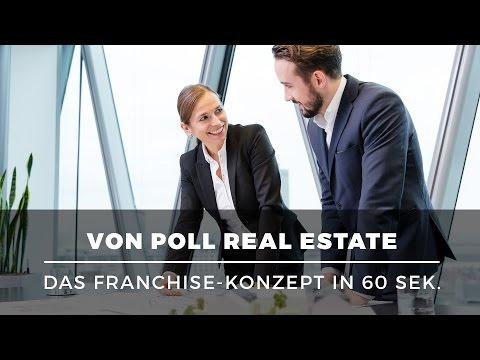 Erfolgreich mit exklusiven Immobilien – Franchise mit VON POLL REAL ESTATE erklärt in 60 Sek.
