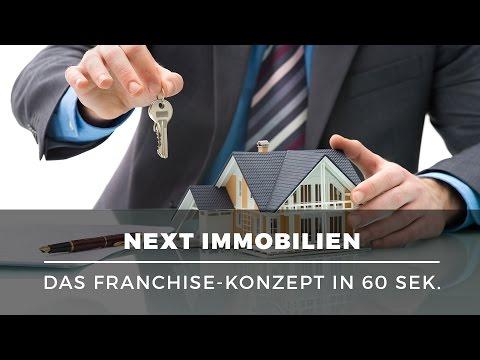 Ein eigenes Immobilien-Büro eröffnen – Franchise mit NEXT Immobilien erklärt in 60 Sekunden