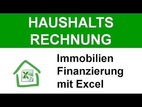 Thomas Knedel: Haushaltsrechnung in Excel – bei Immobilien Finanzierungen professioneller auftreten