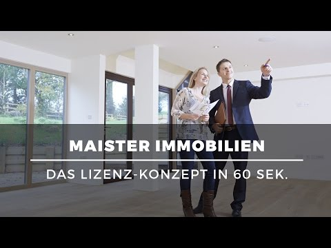 Das Lizenzsystem für Makler sucht Partner: Das Konzept von Maister Immobilien in 60 Sek.