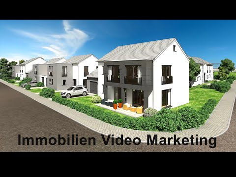 Immobilien Video Marketing inkl. 3D Animation & VSEO