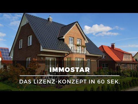 Existenzgründung mit Immobilien-Portal – Lizenzsystem immostar.de in 60 Sek. erklärt