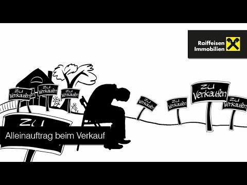 Raiffeisen Immobilien – Alleinauftrag beim Verkauf