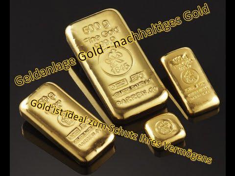 Geldanlage Sachwert – Wie kann ich in Gold investieren – Fairtrade Gold