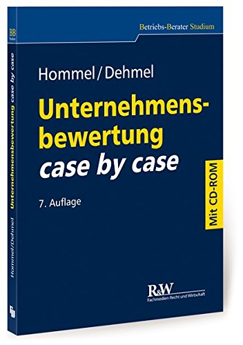 unternehmensbewertung case by case mit bungs cd rom betriebs berater studium bwl case by. Black Bedroom Furniture Sets. Home Design Ideas
