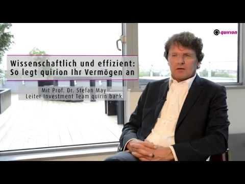 Prof. Dr. Stefan May über die Rolle von Kosten bei der Geldanlage